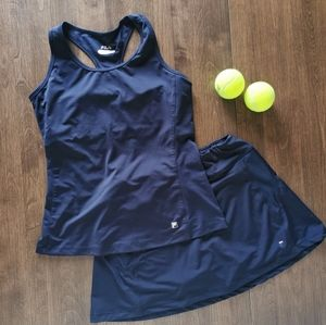 Full tennis outfit size small